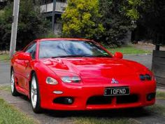 August 5, 2013.  1996 Mitsubishi GTO Vr4.  Ever since I saw the Mitsu 3000GT, I've loved these cars.  Wish I could have one.  Sitll wishing....