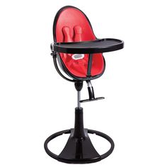 Toddler and Baby Yellow Gold High Chair recliner | Diddle Tinkers