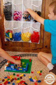 como guardar legos