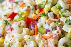 Mozzarella, Pasta Salad, Salads, Nap, Minden, Ethnic Recipes, Food, Barbecue Side Dishes, Pasta Side Dishes
