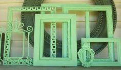 mint empty frames