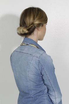 HAIR HOW-TO: THE LOW TWISTED UP-DO | Grazia South Africa