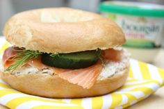 Bagel saumon & Boursin