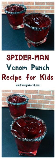 Hosting a Spidey-themed party this summer? THIS is the Spider-Man Venom punch recipe you need to really wow your little super heroes!