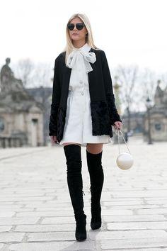 Спрячь колени | Мода | STREETSTYLE | VOGUE