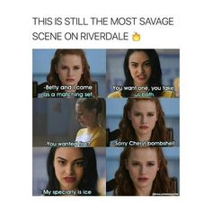 Go veronica The post Go veronica appeared first on Riverdale Memes. Riverdale Quotes, Riverdale Funny, Bughead Riverdale, Riverdale Archie, Riverdale Season 1, Riverdale Veronica, Riverdale Fashion, Stupid Funny, Funny Jokes