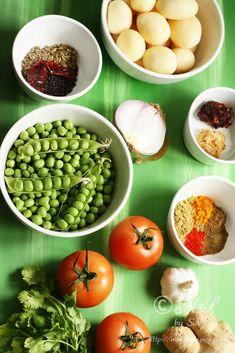 Aloo Matar Recipe | Simple Vegan Potato and Peas Curry