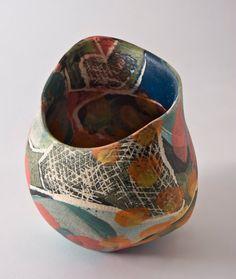 Carolyn Genders, ceramics.