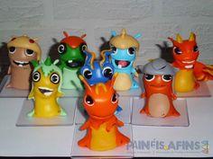 Personagens Slugs (tamanho médio)