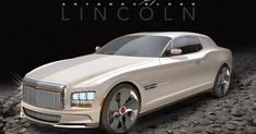 The spectacular, if I do say so myself, lol , Lincoln Continental Mark IX LSC V12 Biturbo sports car concept. Long name, but the hood is eve...