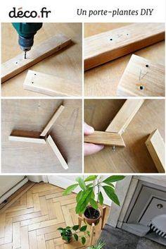 Tuto : fabriquer un support porte-plantes très facilement