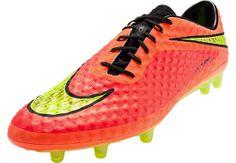 Nike Hypervenom Phantom FG Soccer Cleats - Crimson and Hyper Punch...At SoccerPro Now!
