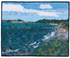 Mosaic Picture Quilt by Pat Durbin