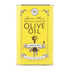 This award-winning olive oil is ideal for cooking & perfect as a salad dressing; packaged in a stylish vintage tin.