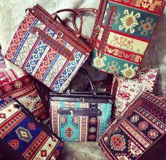 #canta #çanta #bag #kilimcanta #kilimbag Louis Vuitton Monogram, Pattern, Economic Model, Patterns, Vorlage