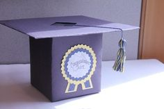 Graduation Cash Cap Box