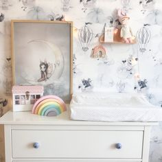 Mrs mighetto wallpaper room Kids Room Wallpaper, Nordic Home, Interior Inspiration, Photo And Video, Living Room, Floral, Furniture, Instagram, Ideas