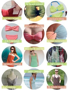 25 DIY Swimsuits + Coverups | Henry Happened