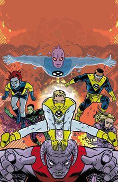 X-FORCE #116 Mike Allred, Comic Art Community, X Force, Marvel, Xmen, A Comics, Spiderman, Comic Books, Superhero