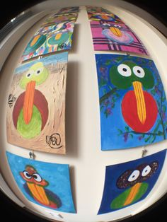 Birdymarble Tuesday 10-05-2016; New Birds today; #M02AlwaysSecond and #M26FunnyBirdSad