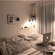 15 Trendy Ideas For Decor Room Ideas Bedroom Loft Room Ideas Bedroom, Small Room Bedroom, Bedroom Decor, Bedroom Loft, Decor Room, Appartement Design, Minimalist Room, Aesthetic Room Decor, Cozy Room