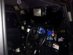 The 'Hi-Tec' Dash! Digital Gauges, HUD, Night Vision in Driver Visor, Rear View Monitor, DVD in Pass Sun Visor, Freeview TV in front of Pass, Touch Screen double din Stereo..................
