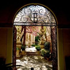 Venise côté jardin: Le Jardin du Palais Cappello Malipiero Barnabò