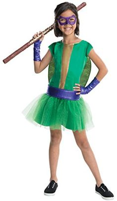 Rubies Teenage Mutant Ninja Turtles Deluxe Donatello Tutu Dress Costume Child Large ** Read more reviews of the product by visiting the link on the image.