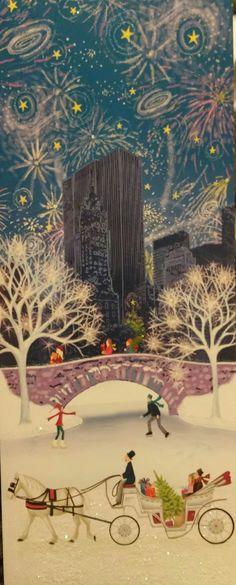 (Christmas Art Whimsical)