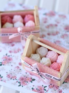 Roses Soap in a Box