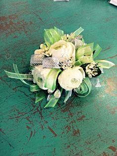Ranunculus corsage! #treasuredblossomsflowermarket
