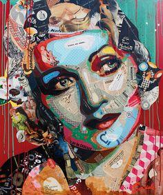 """Artist : Arnaud Bauville """"POUR L'AMOUR D'UN FILS"""" 100 x 120 cm (39,4 inches x 47,2 inches )"""