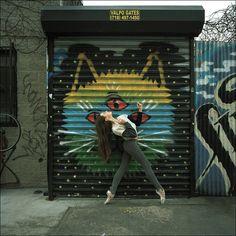 Hanna - Bushwick, Brooklyn Help the continuation. Dancer Problems, Bushwick Brooklyn, Ballet Pictures, Dance Pictures, Street Art Love, Ballerina Project, Dance Movement, Outdoor Art, Limited Edition Prints