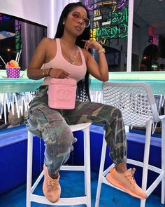 Best Sporty Outfits Part 8 Sporty Outfits, Dope Outfits, Trendy Outfits, Girl Outfits, Summer Outfits, Fashion Outfits, Swag Outfits, Summer Clothes, Black Girl Fashion