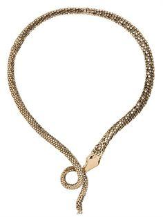 Aurelie Bidermann  snake Necklace