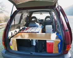 Necessary minivan camper conversion tips, please! : vandwellers