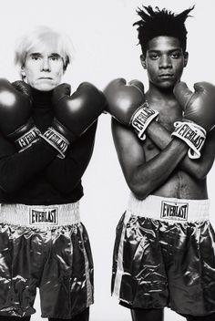 andy warhol 1960's | Andy Warhol x Jean Michel | 1960's