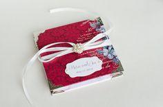 Wedding Mini Album Mini Photo Album Wedding Brag by VioletCloudlet