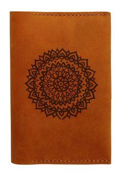Vietsbay Unisex Mexican Pattern Handmade Genuine Leather Passport Holder/Case
