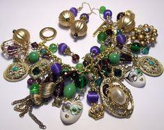 Heather Rose Jewelry: Heather Rose~Vintage Mardi Gras Bracelet