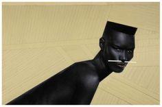 Portrait of model, actor, and singer Grace Jones, France, by Jean-Paul Goude. Grace Jones, Jean Paul Goude, Jean Paul Gaultier, V Magazine, Afro Punk, Laetitia Casta, Gouda, Androgyny, Androgynous Style