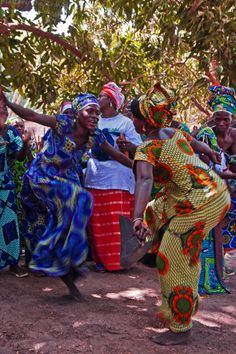Kanuma dancers, The Gambia