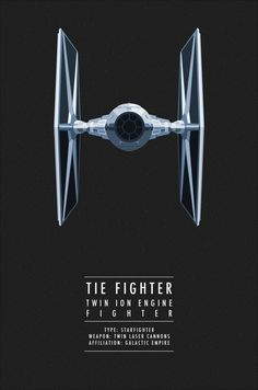 "I never knew what the ""TIE"" in TIE Fighter stood for. I always assumed it was because it looked like a bow tie."
