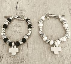Men's Yellow Gold Curb Link Bracelet, Cross Jewelry, Stone Jewelry, Wire Jewelry, Boho Jewelry, Beaded Jewelry, Jewelery, Handmade Jewelry, Jewelry Design, Fashion Jewelry