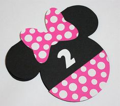 Diy minnie mouse invitations minnie mouse invitation diy kit do it set of 12 minnie mouse invitations each invitation measures 5 tall it is fully assembled and ready to hand out it comes with 12 white envelopes solutioingenieria Images