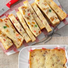 Holiday White Fruitcake Recipe -Years ago, when I attended Koloa Missionary Church in Hawaii, a friend gave me this recipe. Now I whip up at least 60 loaves for the holidays. Desserts For A Crowd, Easy Desserts, Dessert Recipes, Potluck Desserts, Holiday Baking, Christmas Baking, Xmas Food, White Fruitcake Recipe, Best Cake Recipes