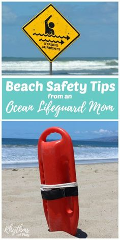 Keep your family safe this summer with these 25 Beach and water safety tips from an ocean lifeguard mom. Includes information about rip currents, how to teach your kids about ocean conditions and water safety, swimming tips, and basic first aid informatio Family Safety, Child Safety, Costa Rica, Swimming Tips, Swimming Pools, Water Safety, Swim Lessons, Summer Activities For Kids, Beach Activities