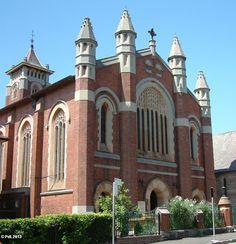 St Augustine's Catholic Church Balmain. Opened in 1907