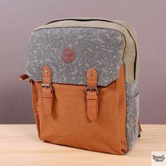 Materiałowy miejski plecak Roxy Likey Military Olive  / www.brandsplanet.pl / #roxy