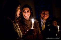 For a Winter Wedding, it's quality, not quantity of light -
